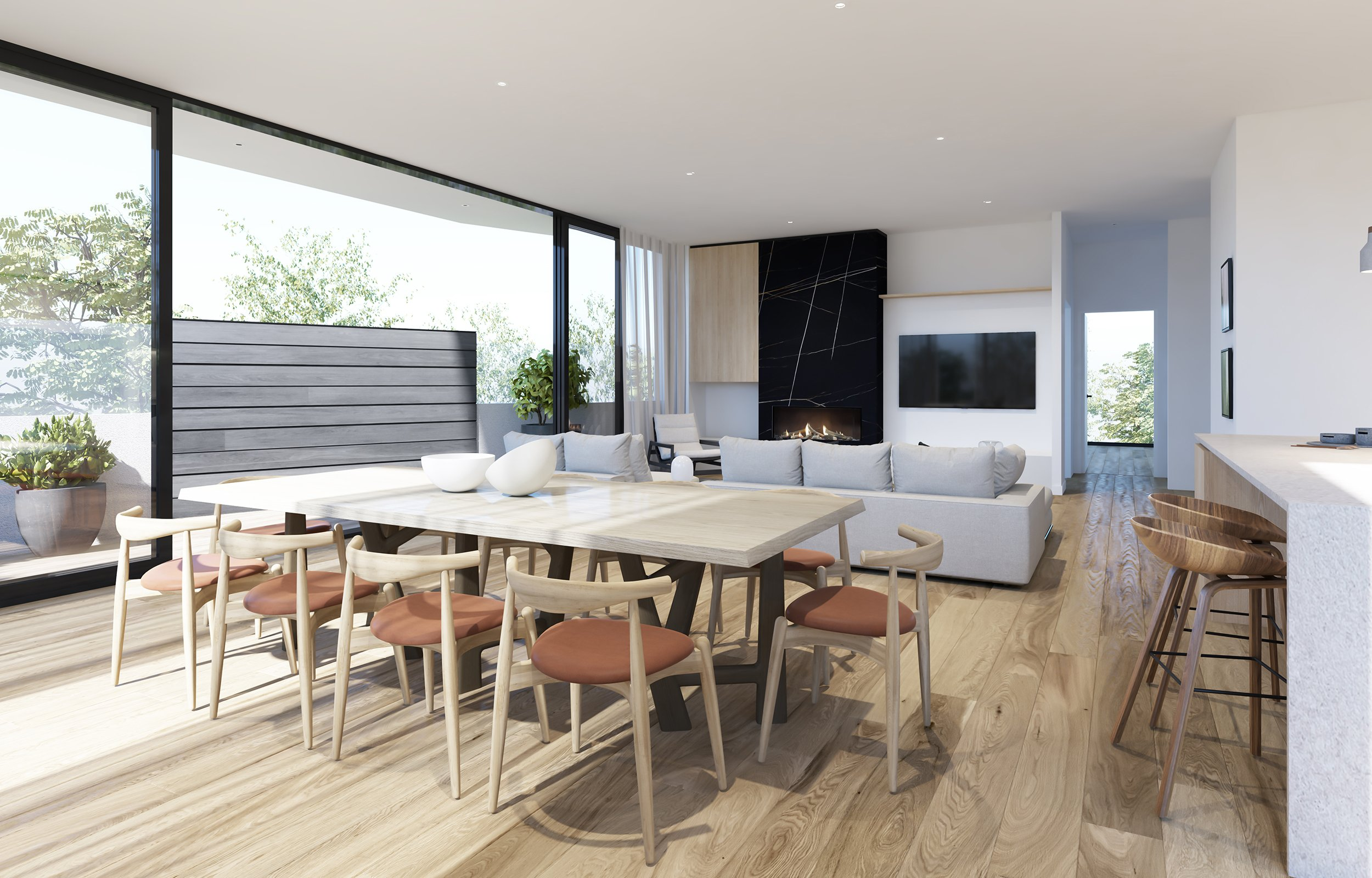 Beach Rd – Apartment 1 – Lounge Out MR